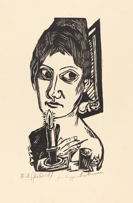 Woman with Candle (Frau mit Kerze)