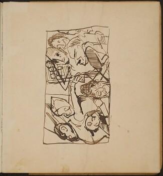 Figuren in Interieur (Figural Group in Interior) [p. 1]