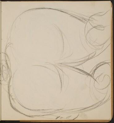 Weiblicher Akt in Rückenansicht (Nude from Behind) [p. 13]
