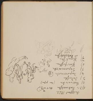 Notizen und kleine Skizzen (Notes and Small Sketches) [p. 22]