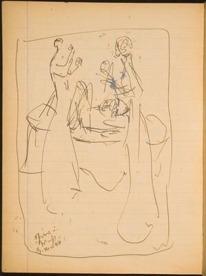 Zwei Stehende Frauen (Two Standing Women) [p. 6]