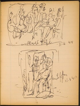 (Two Sketches) [p. 17]