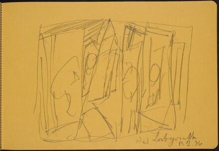 Interieur mit Figuren (Interior with Figures) [p. 11]