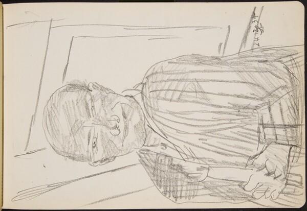 Selbstportrait mit Kerze (Self-Portrait with Candle) [p. 23]