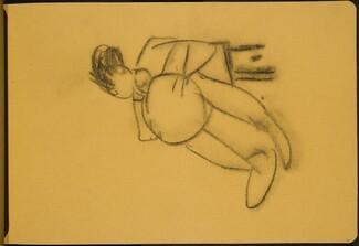 sitzende Figur mit dickem Bauch (Sitting Figure with Belly) [p. 41]