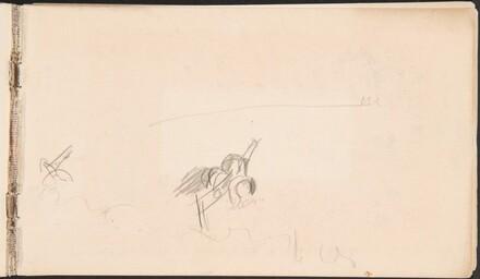 Study of Artillery Cannon (Begonnene Studie einer Artilleriekanone) [p. 1]