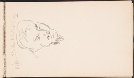 Male Portrait Study (Mannliche Bildnisstudie, daruber Kohler...) [p. 7]