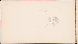 Portrait Study (Flüchtige Bildnisstudie) [p. 16]
