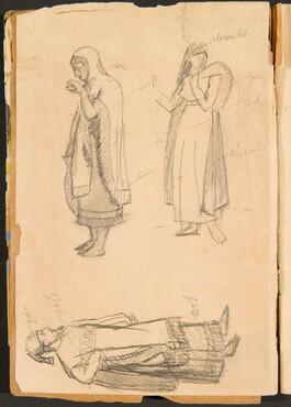 Kostümstudien von Hebräern (Hebrew Costume Studies) [p. 4]
