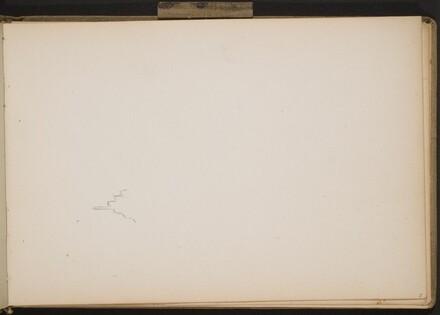Begonnener Skizze eines Giebels (Beginning Sketch of Gables) [p. 5]