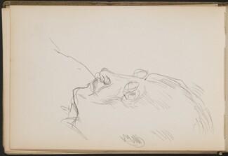 Männliche Bildnisstudie (Unknown Male Portrait Study) [p. 20]
