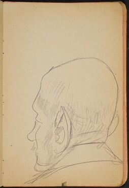 älterer Mann in Rückenansicht (Elderly Man Seen from Behind) [p. 3]