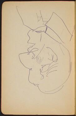männliche Bildnisstudie (Male Portrait Study) [p. 10]
