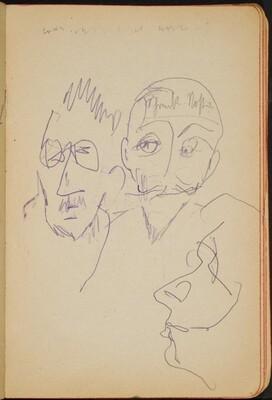 drei Köpfe und Beschriftung (Three Heads, One Notation) [p. 11]