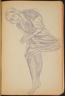 sitzende Frau (Reclining Female) [p. 23]