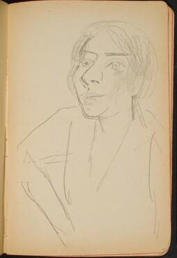 weibliche Bildnisstudie (Female Portrait) [p. 33]