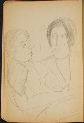 Zwei Frauen (Two Women) [p. 40]