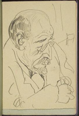 alter Mann mit Kneifer (Male Portrait) [p. 23]