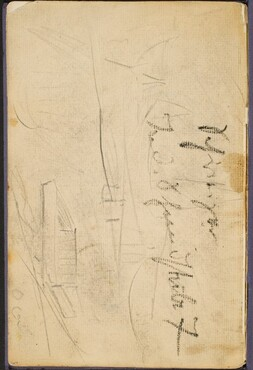 Landschaftsskizze mit Notizen (Sketch with Inscription) [p. 64]
