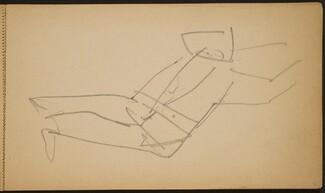 Akrobat, in die Brücke gehend (Acrobat Bending Backward) [p. 9]