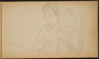 Paar an der Bar (Couple at a Bar) [p. 27]