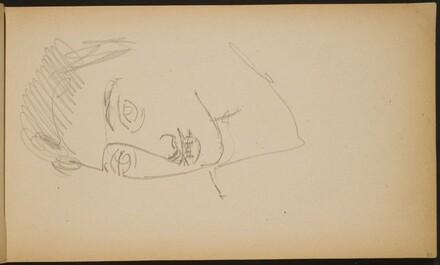 Männliche Bildnisstudie (Male Portrait Study) [p. 31]