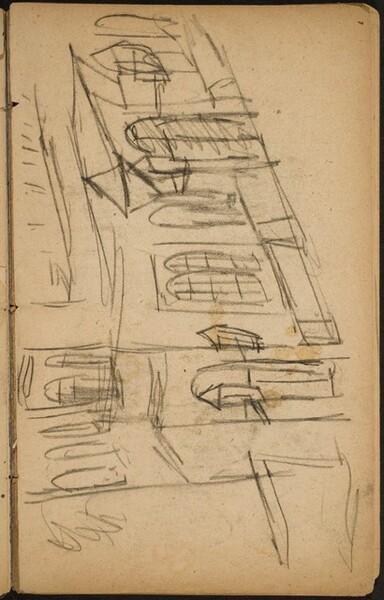 Häuserfassade (Facade) [p. 31]