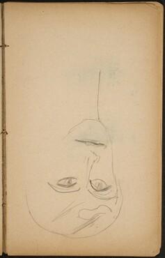 Weibliche Bildnisstudie (Female Portrait Study) [p. 43]