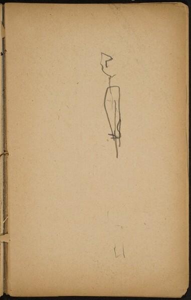 begonnene Skizze (Initial Sketch) [p. 51]