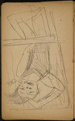Frau unter Wasser (Woman Submerged) [p. 58]