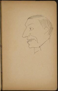 Männliche Bildnisstudie (Male Portrait Study) [p. 69]
