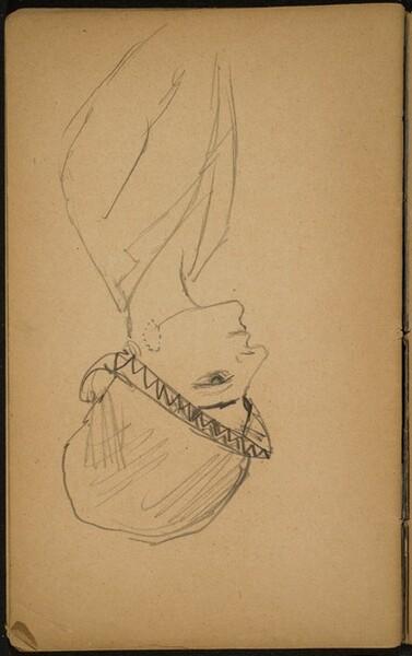 weibliche Bildnisstudie mit Hut (Woman in a Hat) [p. 84]