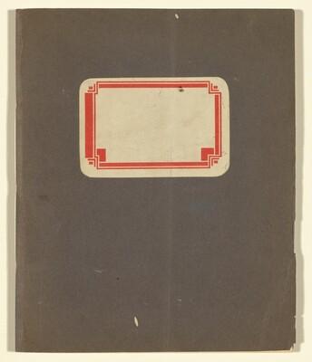 Beckmann Sketchbook 23