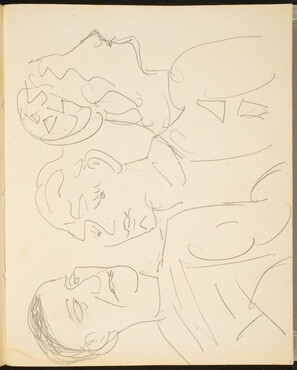 Drei Figuren (Three Figures) [p. 7]