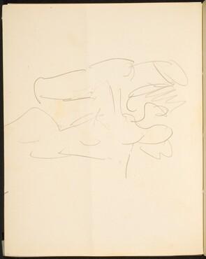 Begonnene Figurenskizze (Figural Sketch) [p. 14]