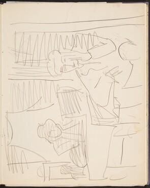 Interieur mit zwei Figuren (Interior with Two Figures) [p. 11]