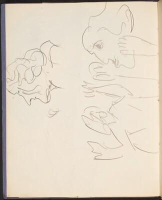 drei Figurenstudien (Portrait Studies) [p. 18]