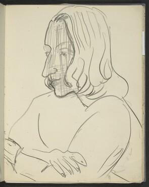 weibliche Bildnisstudie (Woman) [p. 23]