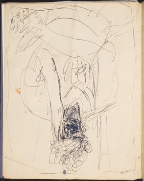 Frau mit Hand vor dem Gesicht  (Woman Covering her Face) [p. 34]