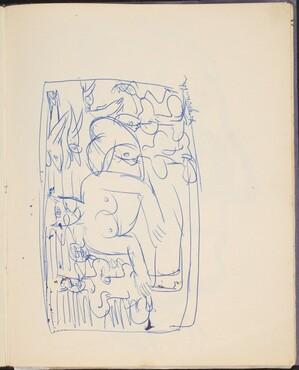 Katzenfrau und Mischwesen (Cat Woman) [p. 39]