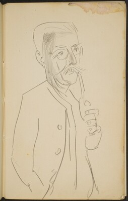 Mann mit Pfeife (Man with a Pipe) [p. 3]