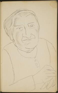 ältere Frau  (Elderly Woman) [p. 11]