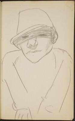 Figur mit Hut (Figure with Hat) [p. 25]