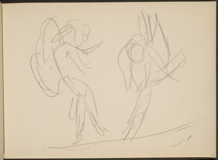 Skizze von Tanzenden (Sketch of Two Dancers) [p. 65]