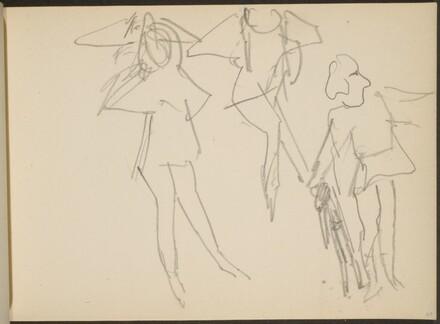 Drei Figuren, wohl Tänzer (Three Figures) [p. 69]