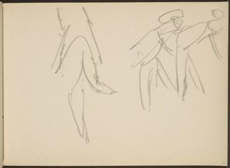 Drei Figuren, wohl Tänzer (Three Figures)  [p. 71]