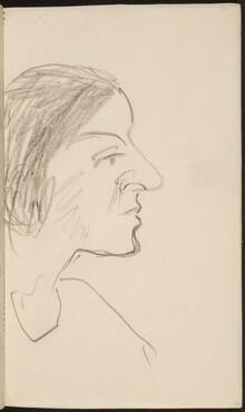 weibliches Profilbildnis (Female Profile) [p. 19]