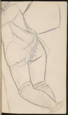 liegende Frau mit in Strümpfen (Woman in Stockings) [p. 39]