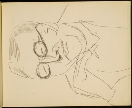 Mann mit Brille (Man Wearing Spectacles) [p. 33]