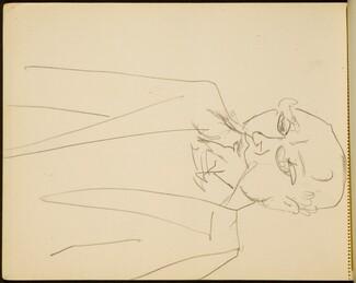 Männliche Bildnisstudie  (Male Portrait Study) [p. 60]
